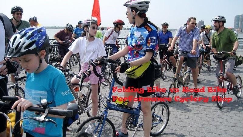 Folding Bike vs Road Bike