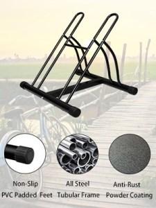 F2C 2-Bike Rack Bicycle Floor Stand Two Bike Parking