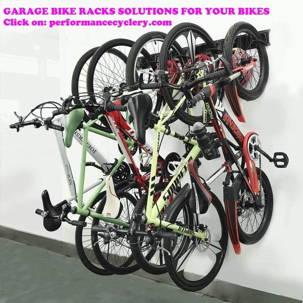 Garage Bike Racks Solutions for Your Bikes