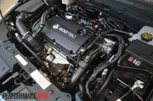 2014 Holden Cruze SRi 16T engine