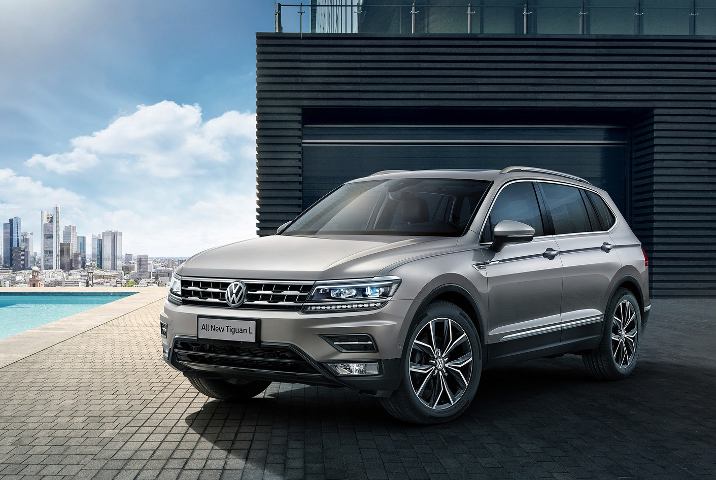 Volkswagen Tiguan Allspace 7 Seater Revealed In Chinese