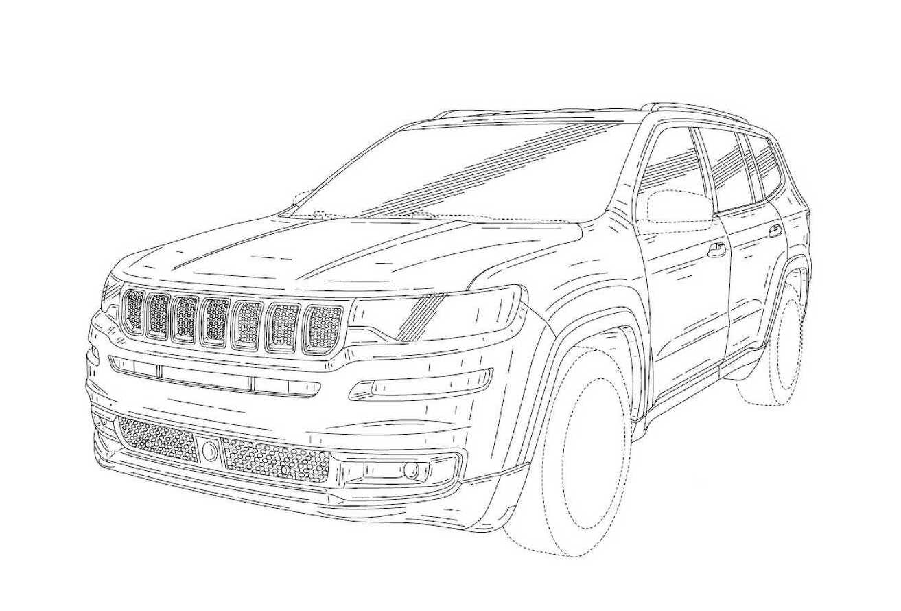 Jeep Wagoneer Patent Images Found Revealing New 7