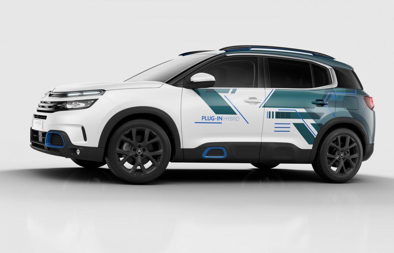 Citroen C5 Aircross Hybrid Concept Previews 2020 Showroom