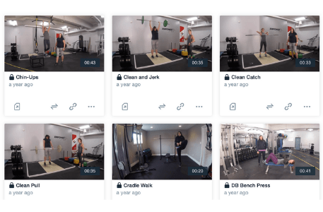 Performance Edge Women's Hockey Exercise Demonstration Video Library