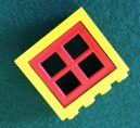 ONE Yellow Square Wheel SWs LEGO 70