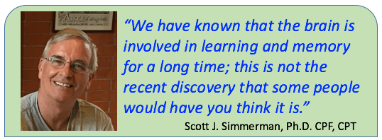 Scott Simmerman quote on neuroscience
