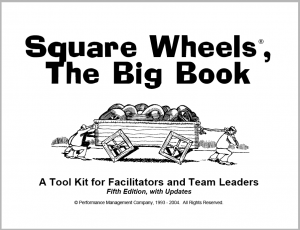 The cover of the 2004 Big Book of Square Wheels