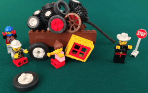 Presenteeism Prevention with Square Wheels LEGO