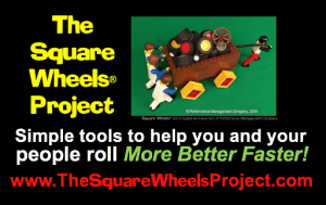 The Square Wheels Project is about facilitating engagment and improvement