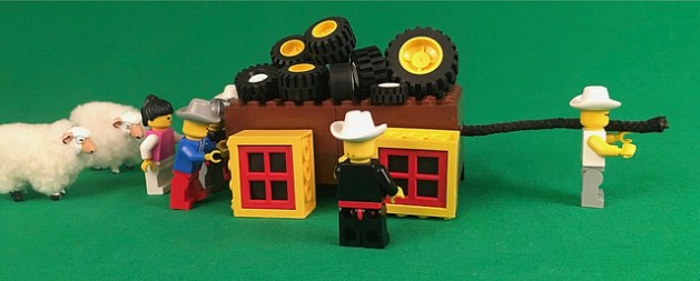 The Search for The Lost Dutchman's Gold Mine uses LEGO Scenes for energy and engagement