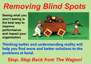 Do we have blind spots in how we think about performance and teamwork?