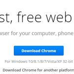 Google Chrome 32 bit download