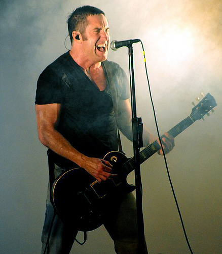 Trent Reznor of Nine Inch Nails - Credit @ Elizabeth Bouras
