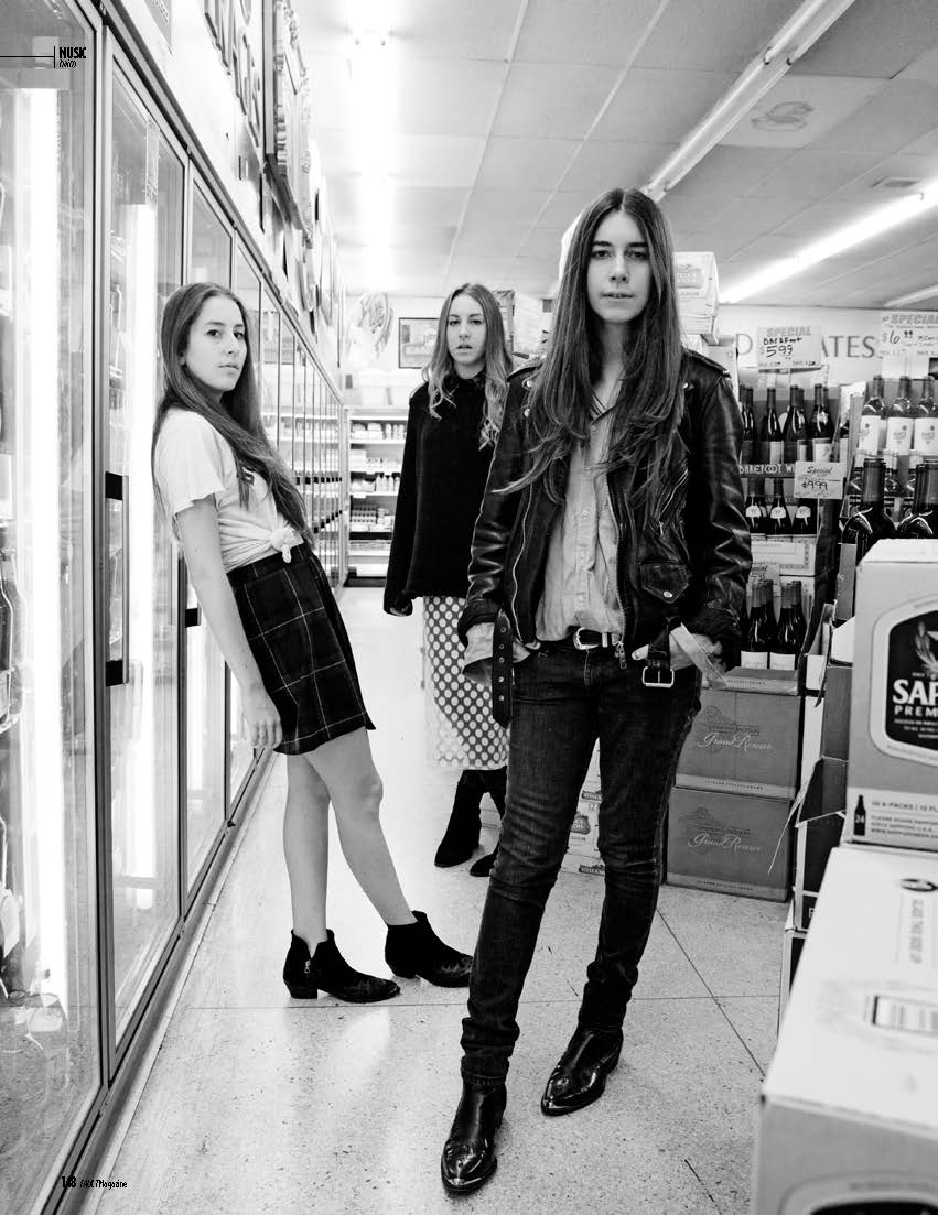 Haim: An Interview