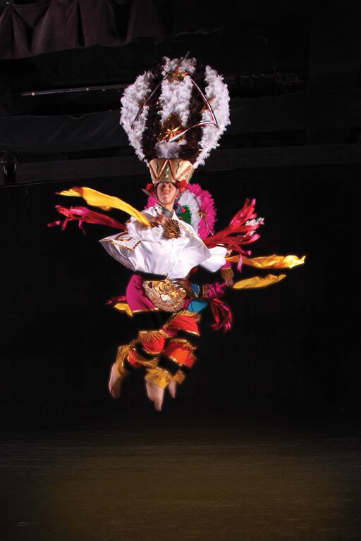 Ballet Folklorico de Mexico De Amalia Hernandez at the London Coliseum
