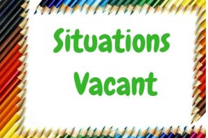 Situation vacant