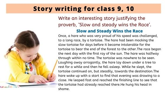 Story writing for class 9, 10
