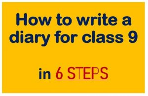 how to write a diary in 6 steps
