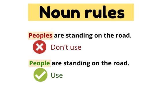 Noun rules