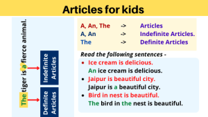 Articles for kids