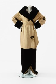 Coat worn by a member of the chorus in My Fair Lady, J.C. Williamson Theatres Ltd, 1959. Designed by Cecil Beaton. Realised by 'Henry' J.C.W. Modes. Purchased, 2005. Arts Centre Melbourne, Performing Arts Collection. Photograph by Jeremy Dillon.
