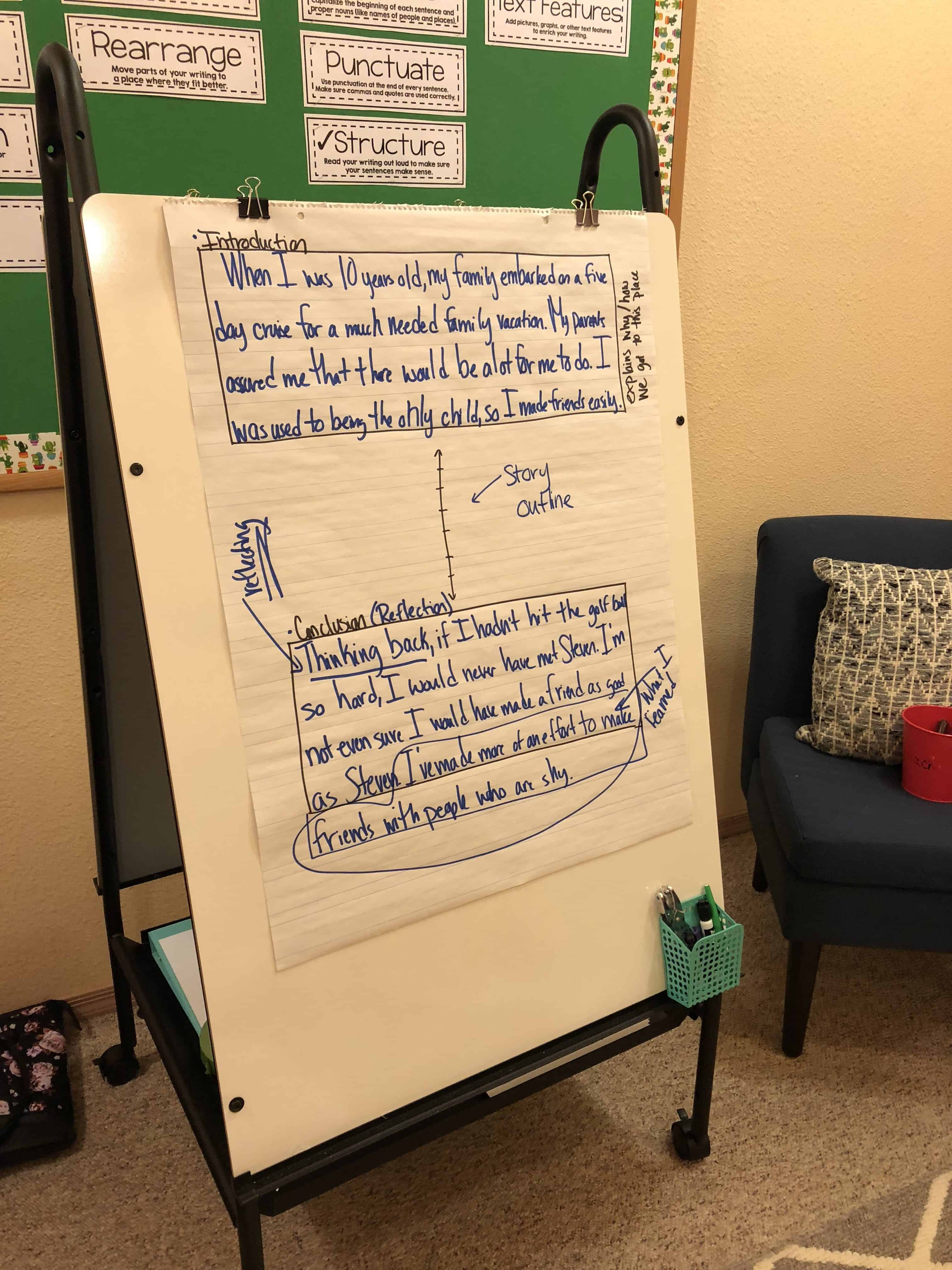 Beginning And Ending Personal Narrative Pieces Mini Lesson