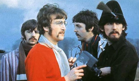 Image result for the beatles strawberry fields forever photo