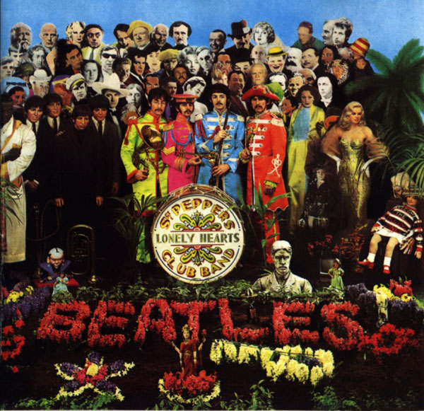Image result for sgt pepper album cover