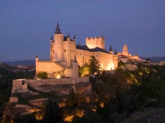 Alcazar fortress in Segovia