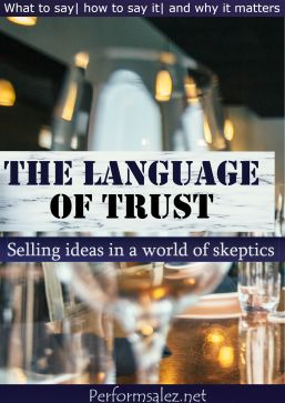 Speak Selling Language that Sells Any Commodity in Business