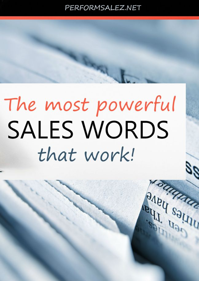 Persuasive Words: Can Sales Reps Trigger Sales From Buyers?