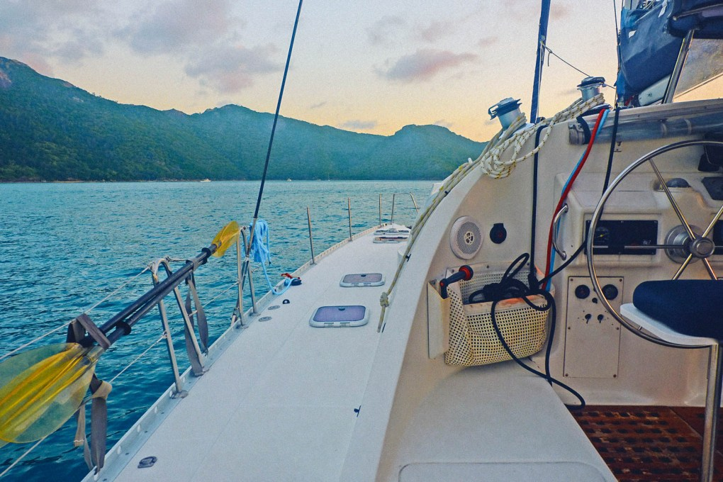 catamaran tour whitsundays