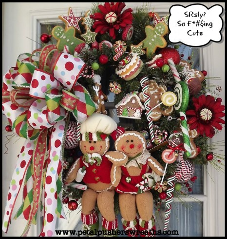 cutest Christmas wreath in the world!