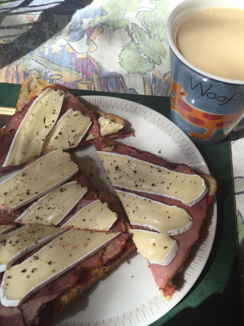 Beetroot, Pastrami, Brie, Pepper on Toast Cuppa