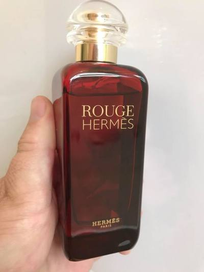 Holiday scenting Hermes Rouge Hermes Dec 2017