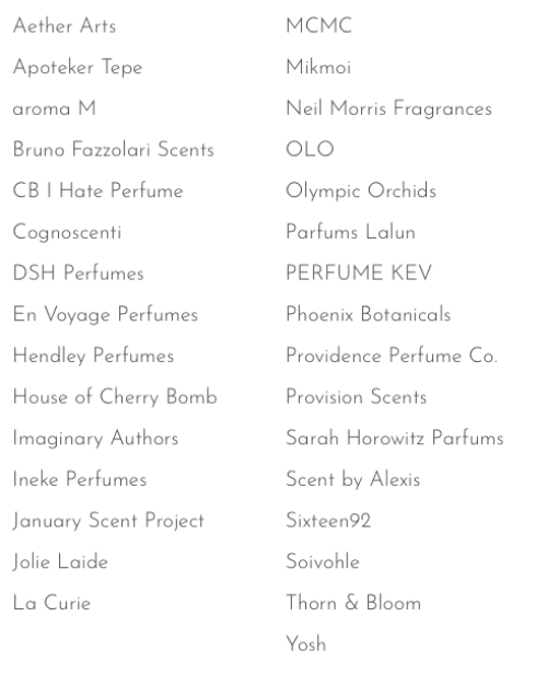 American Perfumer Brands Sept 2018