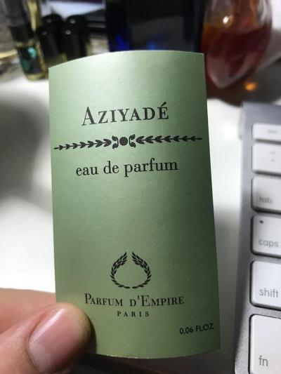 Aziyade by Parfum d'Empire