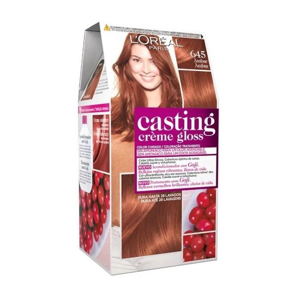 L'OREAL PARIS Casting Creme Gloss Baño de Color 645 Ámbar