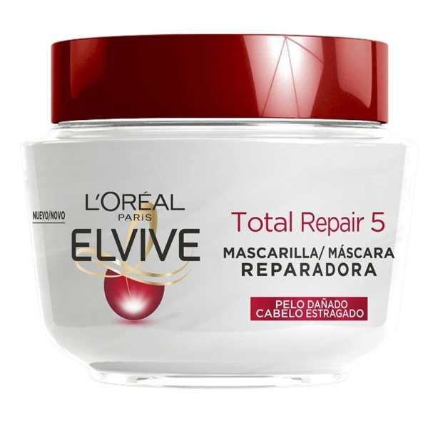 L´Oréal Paris Elvive Total Repair 5 Mascarilla Reparadora para el pelo dañado 300ml