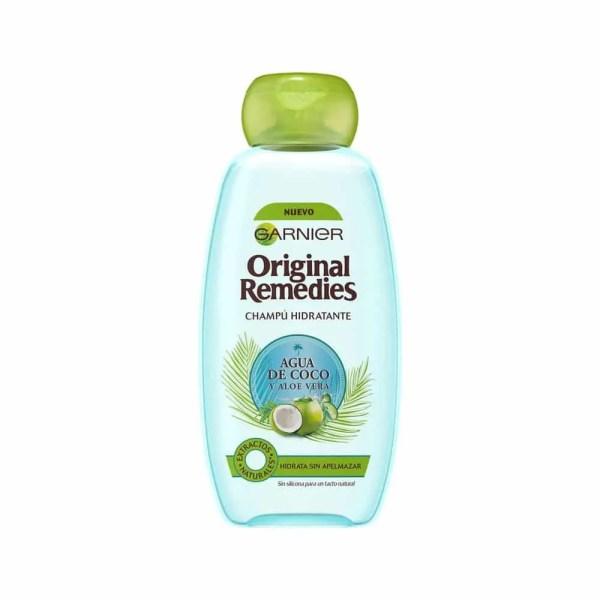 Original Remedies Champú Agua de Coco y Aloe Vera 300 ml