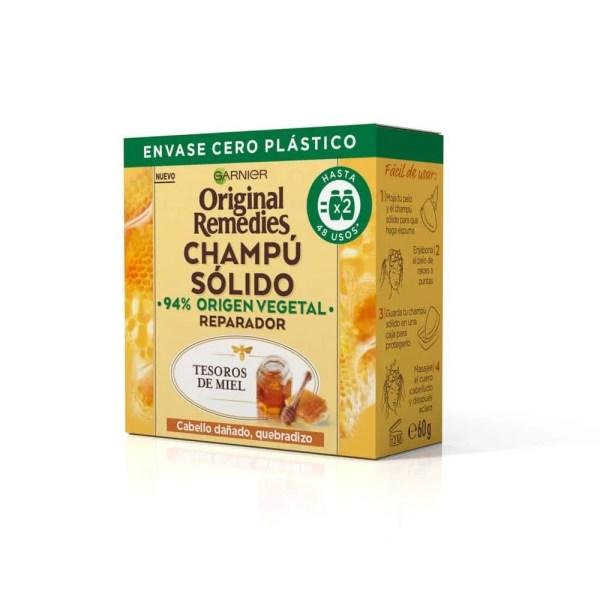 Original Remedies Champú Sólido Tesoros de Miel