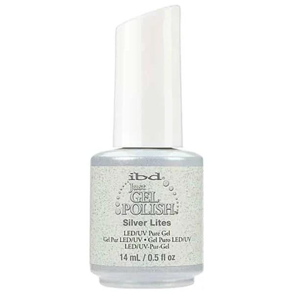 Ibd Just Gel Esmalte en Gel Semipermanente Silver Lites 14 ml