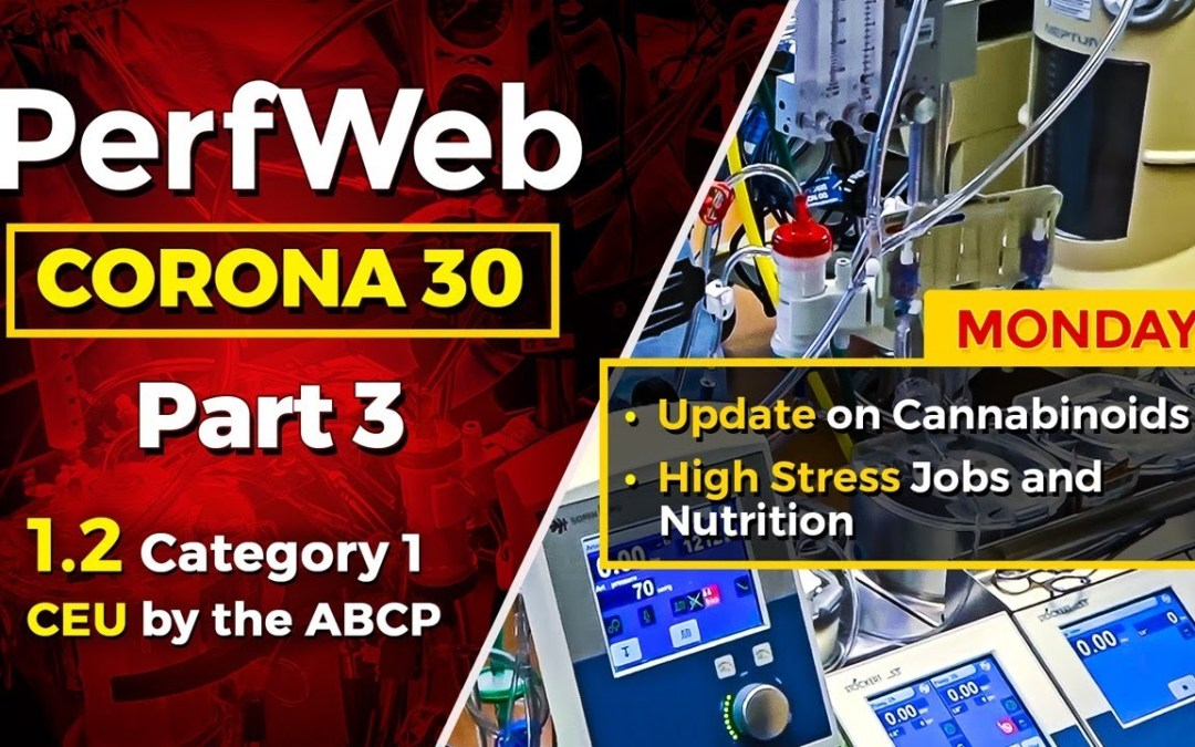 CORONA 30 Part 3 Day 1 Update on the use of Cannabinoids. Medicinal uses of cannabinoids