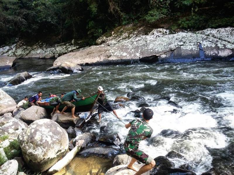 Salah satu moda transportasi di Kayan Mentarang National Park via @kayanmentarang_nationalpark.id