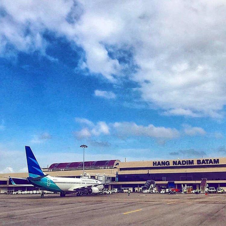 Bandara Hang Nadim Batam Airport via @ananda.hrp