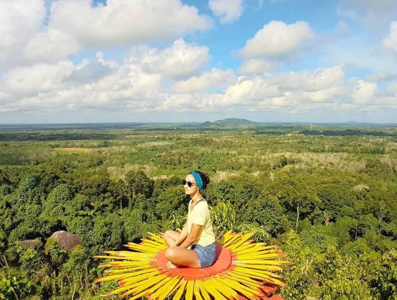 Bukit Gebang, Desa Nangka, Kecamatan Air Gegas, Kabupaten Bangka Selatan, Bangka Island, Kepulauan Bangka Belitung via @asrialdilaputri