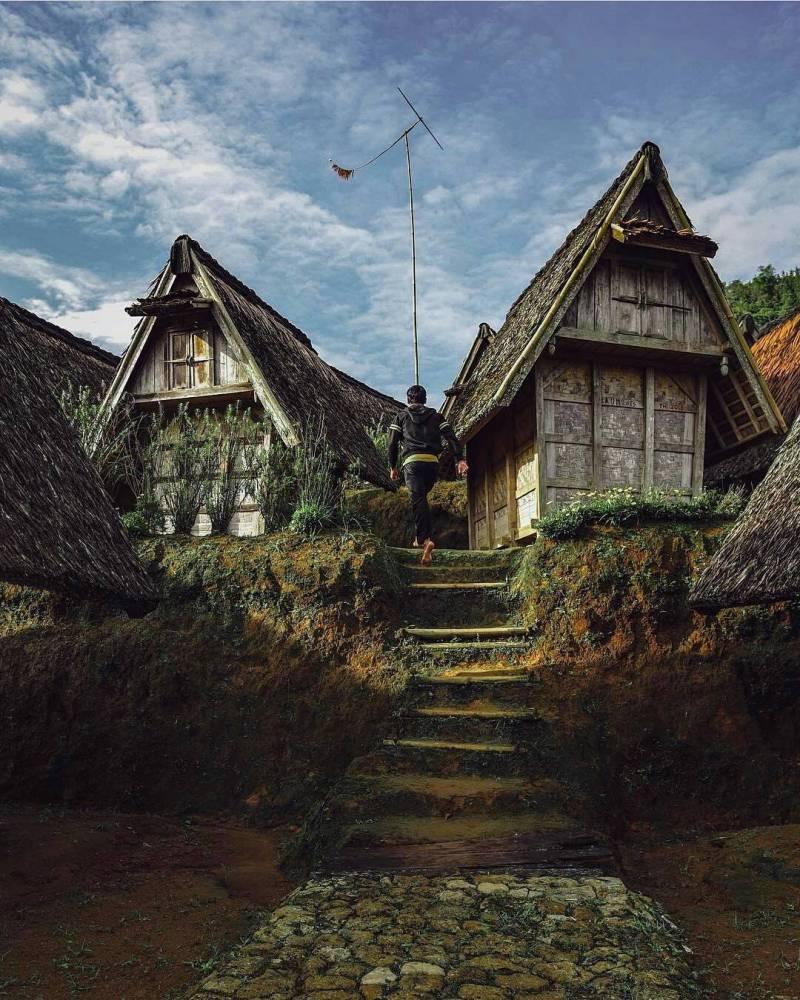 Kampung Ciptagelar di Cisolok via @wongabraham
