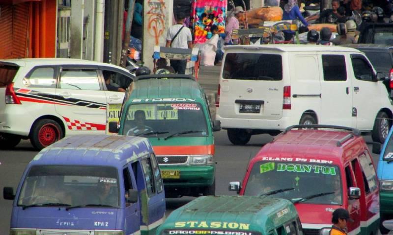 Informasi Daftar rute Angkot Bandung terbaru tahun 2020, Angkutan Umum Bandung Lengkap