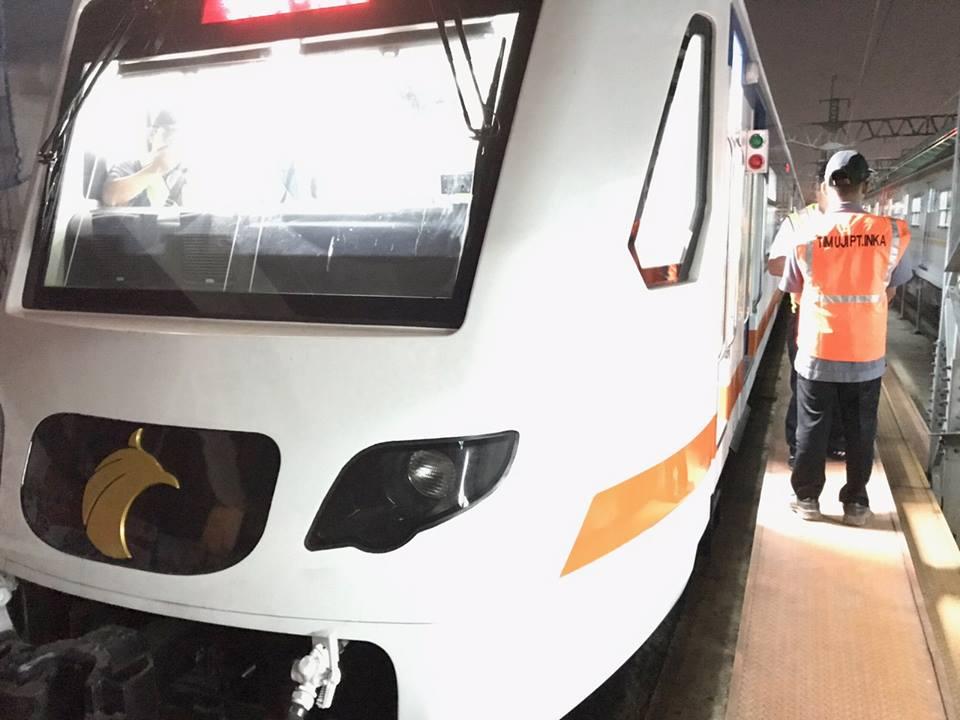 KA Bandara Soekarno-Hatta siap untuk uji dinamis dengan berjalan dari Stasiun Manggarai ke Stasiun Bekasi PP.