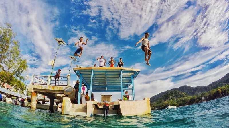 Pulau Rubiah, salah satu tujuan wisata di Pulau Sabang! @jamal_rts